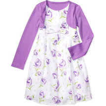 George Girls' Sleeveless Flower Dress with Bolero. Available at Walmart. Sizes 4 and 7. $12. Originally $18. photo credit, Walmart