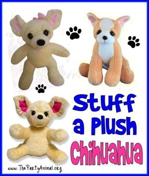 Stuff a Plush Chihuahua