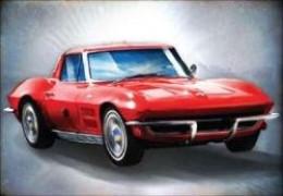 '63 Corvette StingRay - Candy Red