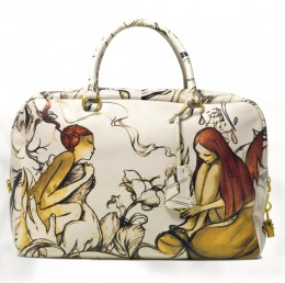 The Prada fairy bag , Miuccia Prada created in collaboration with artist James Jean is touted as a must have for bag lovers