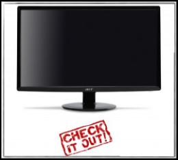 20 inch thin bezel monitor