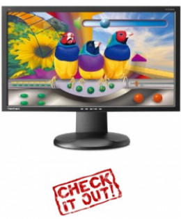 monitor with thin bezels