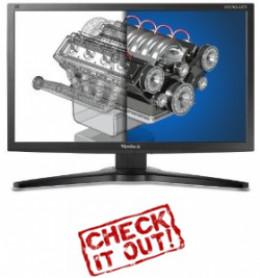 27 inch small bezel monitor