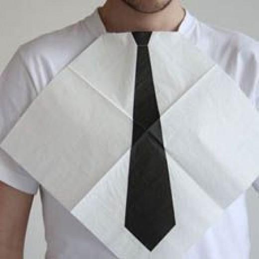 How To Make A Homemade Tie! Haha