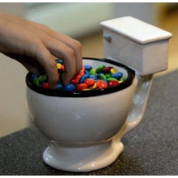 Fill The Toilet Bowl Mug With Candy!