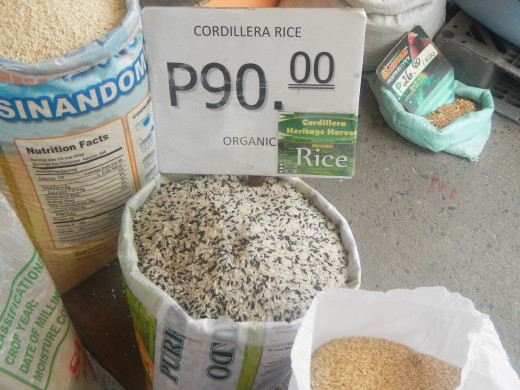 Organic rice from the Cordilleras are priced highly, beyond the reach of ordinary Filipinos.