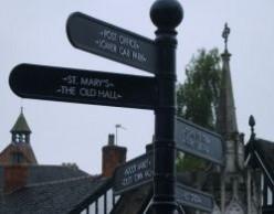 Sandbach, a Cheshire market town