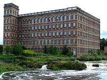 A mill in Paisley, Scotland - photo from Wikipedia. Click for more info