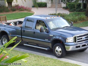 2005 Pick-up confiscated by police. Cloning is not limited to cars.