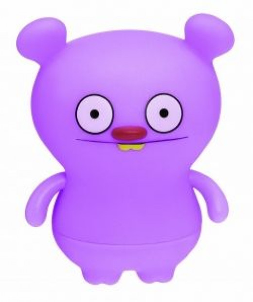 Trunko Purple Action Figure