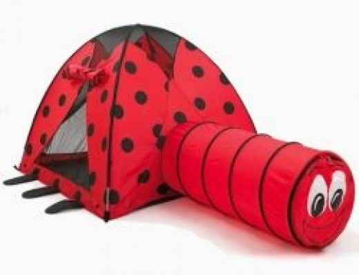 Lady Bug Tent/Tunnel Combo by Pacific Play Tents