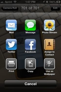 Share a Photo to Facebook in iOS 6
