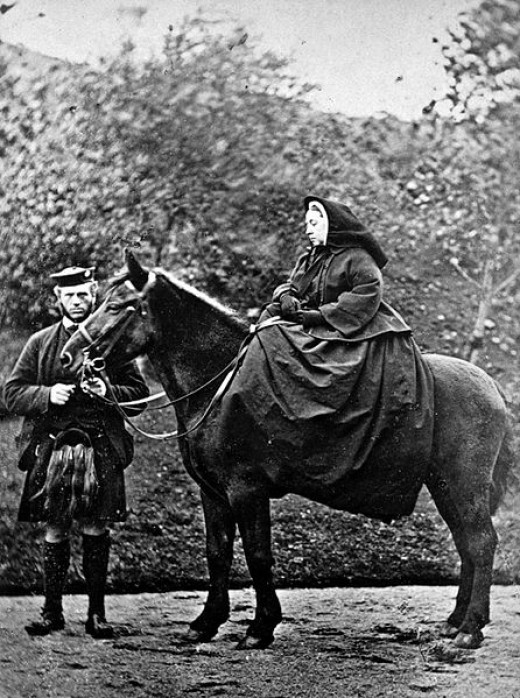Queen Victoria with John Brown