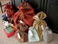 Handcrafted bags - decorative gift bags