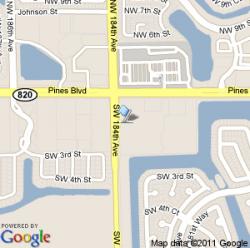 FL 33029 - Walmart Map