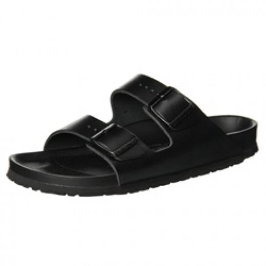 Birkenstock Arizona Exquisite Black Leather Sandals