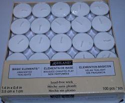 100 tea light candles