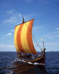 HUNDING'S SAGA - 46: Ivar  Leaves Roskilde With Hunding For Aengla Land