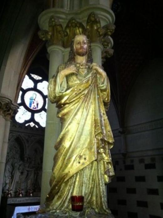 Statue of John the Baptist
