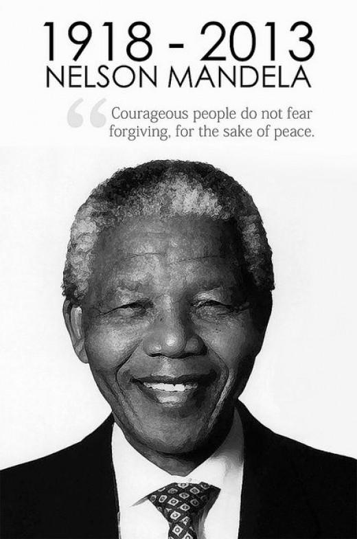 RIP Nelson Mandela by Ashish Lohorung from flickr.com