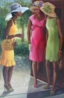 Black Women - Church Women - Single Women - Conversing