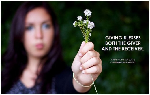 Giving - Giving Flowers