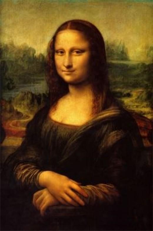 Mona Lisa - Is She Pregnant ?