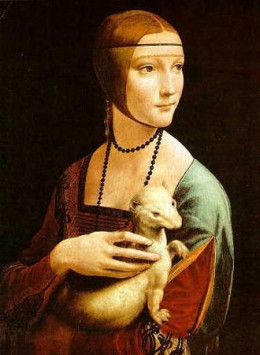 Leonardo da Vinci - Lady with an Armine