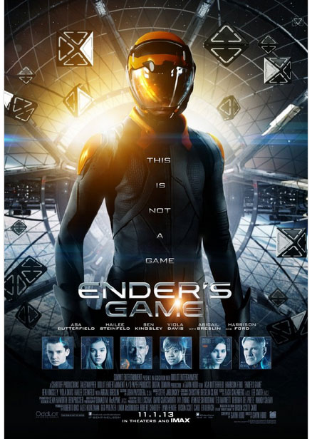 Enders Game space opera sci fi movie 2013