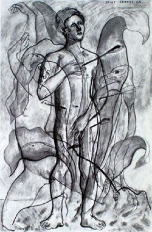 St. Sebastian by Francis Picabia