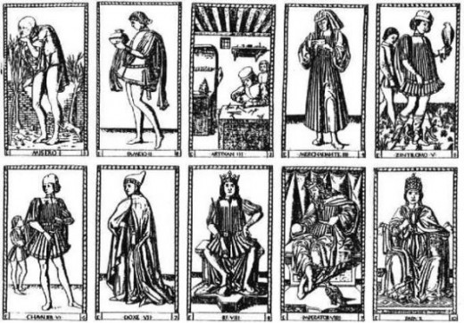 The original Tarot de Mantegna
