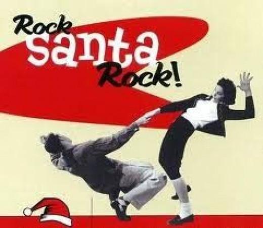 Rock away Santa