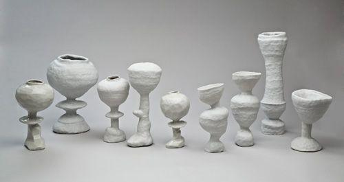 Ceramic sculptures by Susan Nemeth