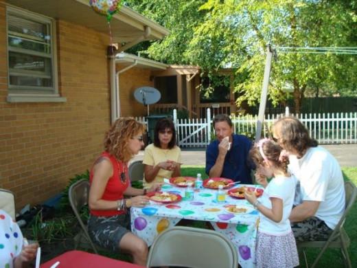 9th backyard birthday party