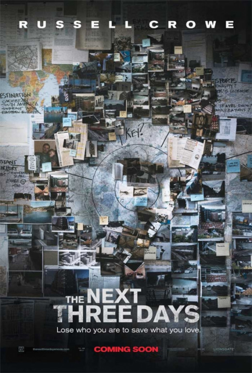 The Next Three Days Teaser Poster