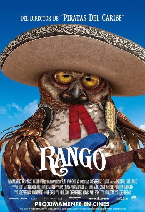 Rango Mariachi Owl Poster