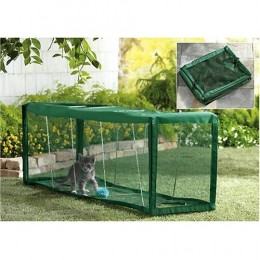 Outdoor Cat Pens, Tunnels, and Enclosures
