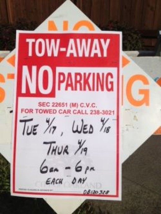 Tow Away Zone - No Parking