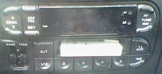 The car radio