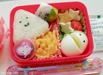 Yummy Lunch Box Lunch!