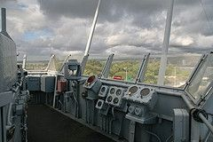 USS Missouri Primary Conning Station