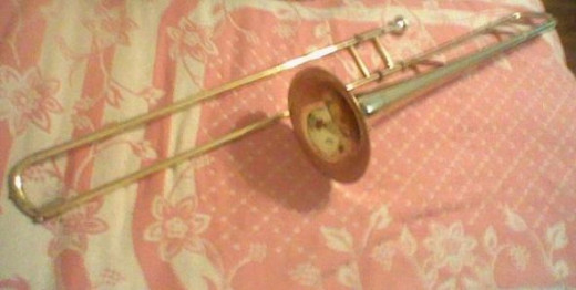 This is my trombone