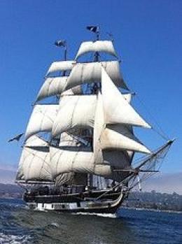 Pilgrim by Port of San Diego