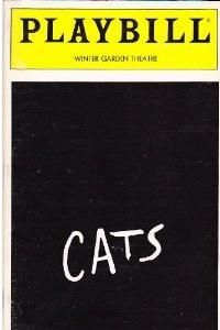 My playbill from Cats