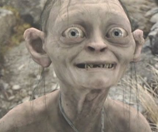For all of you who have enjoyed the series we now have a happy Gollum.