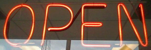 When I first walked past this neon light was not even on. When I did the next pass with the camera it was on.