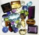 Mixed gem lot