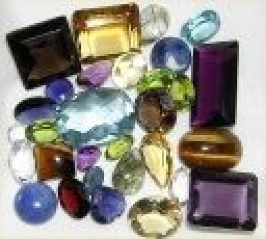 Mixed gem lot