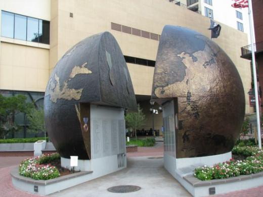 World War II Memorial Savannah GA