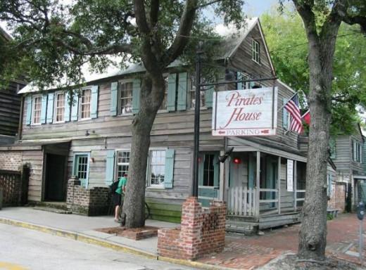 Pirates House Restaurant Savannah GA